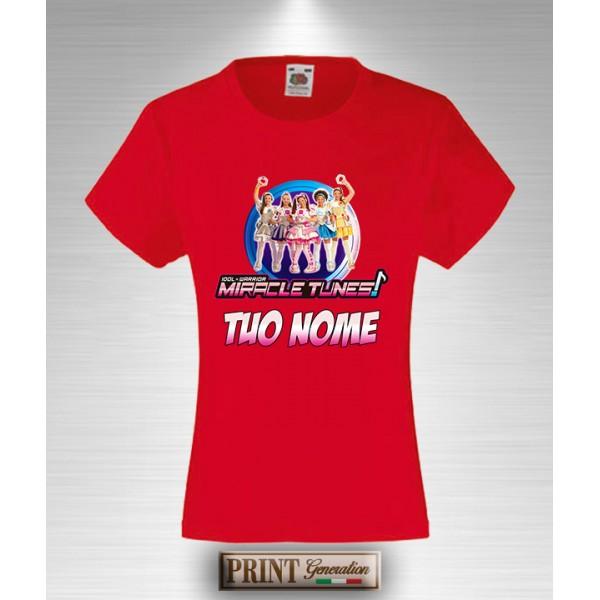Abbigliamento E Accessori T-shirt Me Contro Te Personalizzata Con Tuo Nome Idea Regalo Bambina Slim Fit