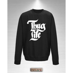 Felpa - THUG LIFE - Idea regalo - Gangstar