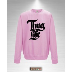 Felpa - THUG LIFE - Idea regalo - Gangstar