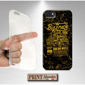 Cover -'ts big truck 2' CAMION ROAD EFFETTO POSTER GIALLO IPHONE