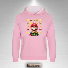 Felpa Cappuccio Bambina Super Mario Bros