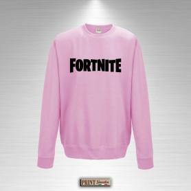 Felpa Girocollo Bambina Fortnite Logo