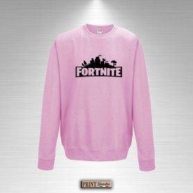 Felpa Girocollo Bambina FORTNITE Save the World Logo