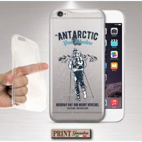 Cover - 'ts trasp antartic adventure' SPORT ALPINISMO EFFETTO POSTER TRASPARENTE VINTAGE IPHONE