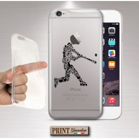 Cover - 'BASEBALL elements TRASPARENTE' sports bat elementi Oppo