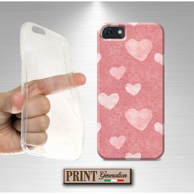Cover stickers cuori rosa Oppo